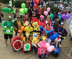 """Mario Kart Alumni."" What a cool and colorful group! Watch out for the red shell."