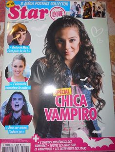 CHICA VAMPIRO Greeicy Rendon - Magazine special edition + 8 posters France