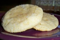 Soft, Chewy Sugar Cookies