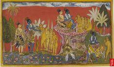 Image: Rama and Lakshmana Meet Sugriva