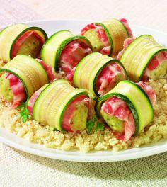 involtini di zucchine e nasello