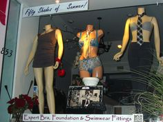 The third in our trilogy of Fifty Shades of Summer windows!