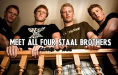 Hockey Bucket List - Meet all four Staal Brothers [CHECK]