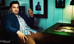 Jake Johnson aka Nick Miller on New Girl swoooooon Jake Johnson, Comedy Actors, Matthew Perry, Nick Miller, The Hollywood Reporter, Movies Showing, New Girl, Funny People, Gorgeous Men