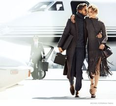 michael kors 2014 fall ad campaign01 Karmen Pedaru is LA Glam for Michael Kors Fall 2014 Campaign