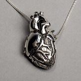Anatomical Heart Locket.