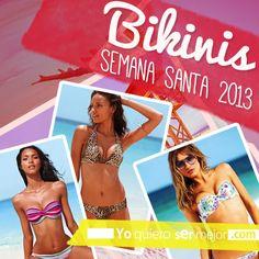 Bikinis Semana Santa 2013 #Bikinis #PrimaveraVerano2013 #SemanaSanta2013 #Fashion #Moda #TrajesDeBaño #Yoquierosermejor