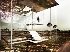 [ME]morial Thesis Honors 2011 Japan Earthquake Victims,[ME]morial #1: Air. Image Courtesy of Beomki Lee