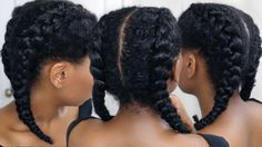How To Cornrow Braid For Beginners | Clear Easy Steps
