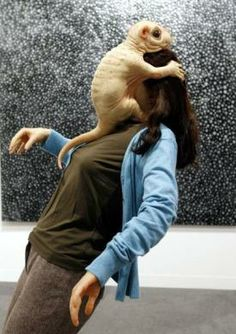 The Embrace, by Patricia Piccinini