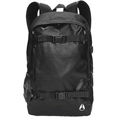 Nixon Mens Smith II Skatepack One Size Black -- Click on the image for additional details.