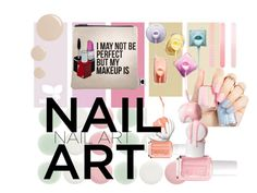 """nail art 2016"" by art-dancer ❤ liked on Polyvore featuring beauty, Nails Inc., Sephora Collection, Accessorize, Topshop, nailart, pastels, pastelnails and Nai"