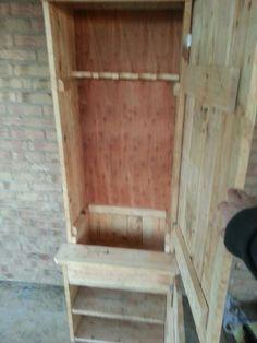Pallet gun cabinet.
