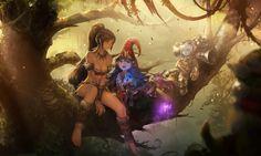 Preseason Three League of Legends - http://digitalart.io/preseason-three-league-of-legends-wallpaper/