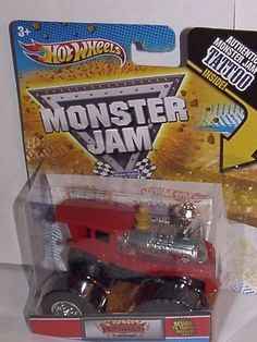 2011 HOT WHEELS 1:64 SCALE ~ DERAILED ~ DESIGN A TRUCK WINNER TATTOO SERIES MONSTER JAM TRUCK #80/80 by MATTEL. $15.99. TOY OR COLLECTIBLE. RED CHOO CHOO TRAIN. DESIGN A TRUCK WINNER. Thanks for looking from midnightbay. 2011 HOT WHEELS 1:64 SCALE DERAILED MONSTER JAM TRUCK #80/80.