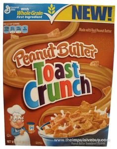 REVIEW: Peanut Butter Toast Crunch Cereal