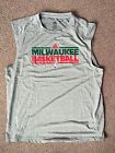 For Sale - NEW MILWAUKEE BUCKS ADIDAS CLIMALITE L NBA WARM UP SHOOTING SHIRT SLEEVELESS - See More At http://sprtz.us/BucksEBay