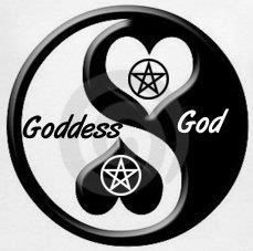 The balance of Goddess/God and the Masculine and Feminine Divine. In Pagan spirituality there is respect for both. Wiccan Art, Wiccan Witch, Wicca Witchcraft, Wiccan Crafts, Indian Spirituality, Gods And Goddesses, Book Of Shadows, Yin Yang, Religion