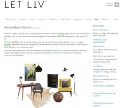 Roomie on Let Liv blog   Click to link Baby Bathroom, Bring It On, Let It Be, Link, Blog