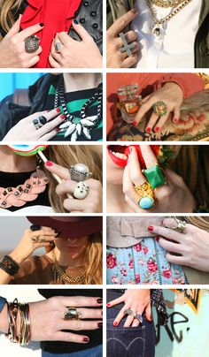 MAD FOR FASHION: MY RINGS