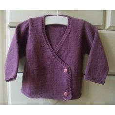 A simple, modern kimono style cardigan that looks lovely over dresses, skirts or denims. Designed for one of my most lovely customers for her grandaughter. Knitted flat on 2 needles and then seamed before adding buttons and ties on the inside to fasten it.