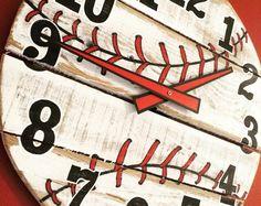 "18"" Baseball Clock                                                                                                                                                                                 More"