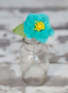 pretty crepe paper flowers