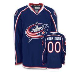 Columbus Blue Jackets Custom Home Jersey [Custom Hockey Jersey 023] - $85.95 : Cheap Hockey Jerseys