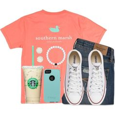 Life is an adventure, so live it up! by kaley-ii on Polyvore featuring Abercrombie & Fitch, Converse, Kendra Scott and OtterBox