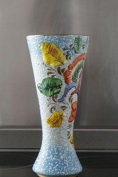 Florero cerámica de H. Bequet- El Desván de Bartleby C/. Niebla 13. Sevilla 41011