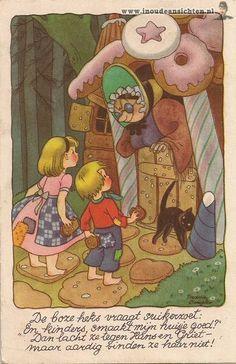 Dutch illustrator Freddie Langeler (Johanna Frederika Langeler)