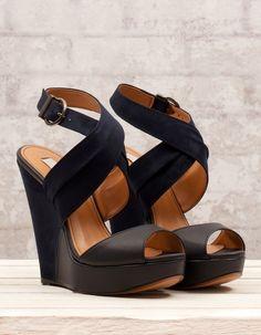 Legal! saltos de sapatos blackwedges