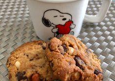 Mogyoróvajas mogyorós-csokis keksz | MarsciP receptje - Cookpad receptek