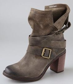 My Jeffrey Campbell ankle bootie #shopbop
