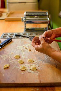 Romina Lamassa making pasta in the old fashioned way at her Italian Restaurant, in Carcavelos, Lamassa - fresh handmade pasta. Work for Revista Visão #foodphotography #gastronomyphotography #editorialphotography #lisbonrestaurants