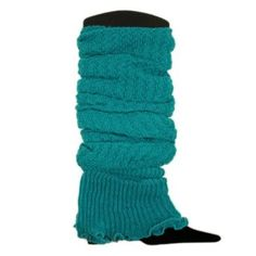 Amazon.com: Trendy Soft Knit Leg Warmers - Different Colors Available (Teal): Clothing