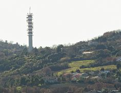 Ancona, Marche, Italy - Antennas and Countryside - by Gianni Del Bufalo (CC BY-NC-SA)