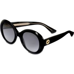 3ed22a726de Gucci 139S Sunglasses ( 255) ❤ liked on Polyvore featuring accessories