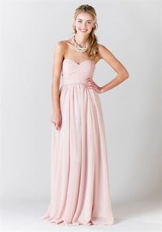 pretty for bridesmaid dresses if it was shorter