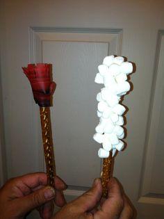 edible pillar of fire and pillar of cloud