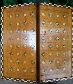 antique backgammon (cover)