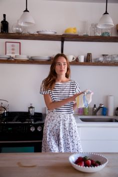 Organize the Chaos- Daphne Javitch | Sous Style....i love the mix of patterns