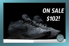"""STEAL: The Nike Flyknit Racer 'Midnight' only $102 with code """"10SPRING100"""""""