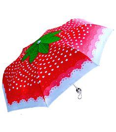 Sweet Strawberry Umbrella // Sugar Bunny Shop