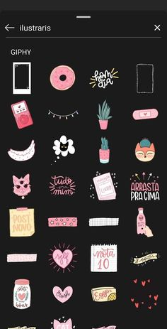 Cute instgram story sticker search ideas for gifs and giphy- инста Instagram Blog, Instagram Emoji, Creative Instagram Stories, Instagram And Snapchat, Instagram Story Ideas, Friends Instagram, Search Instagram, Instagram Posts, Citations Instagram