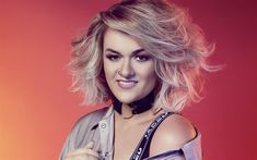 Download wallpapers Grace Davies, 4k, english singer, X Factor, beauty, blonde
