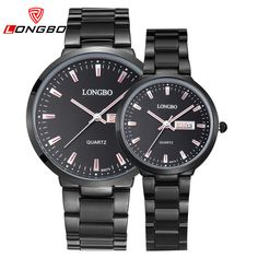 >> Click to Buy << LONGBO 2016 Silver Stainless Steel lovers Watches Couples Fashion Business Wristwatch Casual Quartz Analog Zegarki Damskie Lady #Affiliate