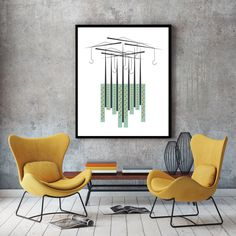 Cranes, city scape, urban art poster, vertical wall art, contemporary art, urban print, city poster, minimalist print, cranes print by FLATOWL on Etsy https://www.etsy.com/listing/239745450/cranes-city-scape-urban-art-poster