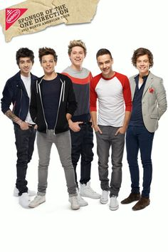 One Direction being cute