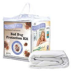 Bed Bug Protection Kit in Twin XL for dorm rooms. Yes, you might actually need this. Worth the investment.